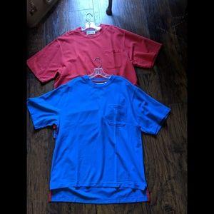 Orvis pocket t-shirts lot of 2 size large